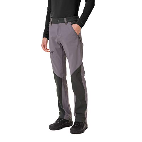 Columbia Triple Canyon Pantalón De Senderismo De Otoño, Hombre, City Grey, Shark, W30/L32