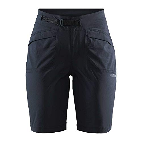 Craft Summit XT Shorts Pad - Pantalones Cortos de Ciclismo para Mujer, Mujer, 1908809-999000-8, Negro, XX-Large