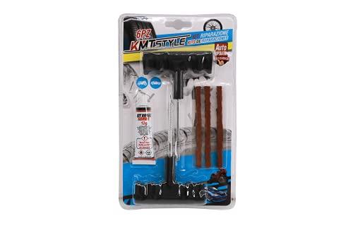 OH Kit de Reparación de Neumáticos, Kit Repara Pinchazos Pequeño repara pinchazos, (6 PZ)