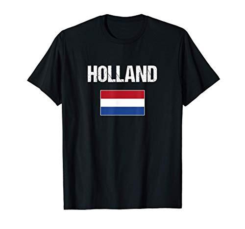 Holanda Países Bajos Bandera Holandesa Holland Camiseta*