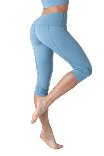 PIZOFF Naked Sensation Wave-Dsign 3/4 Multisport Leggings azul XL