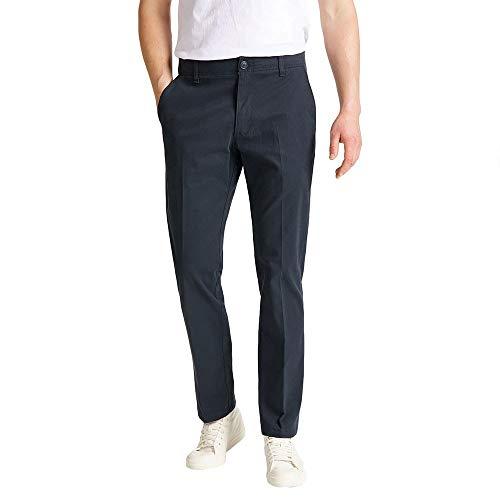 Lee Extreme Motion Chino Pantalones, Azul (Navy), 36W / 34L para Hombre