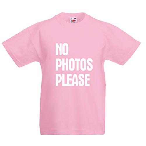 lepni.me Camiseta para niños sin fotos por favor