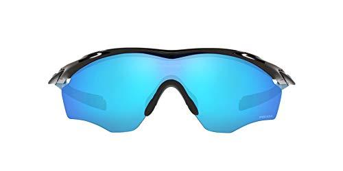 OO9343 M2 Frame XL Sunglasses, Polished Black/Prizm Sapphire, 45mm*