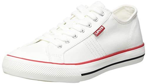 Levi's Hernandez S, Zapatillas Mujer, Regular White, 37 EU*