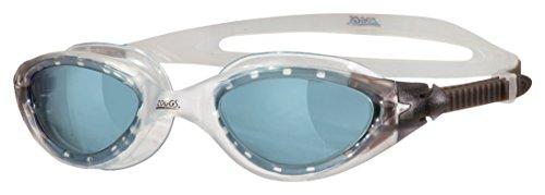 Zoggs Panorama - Gafas de natación, Color Gris Ahumado/Transparente