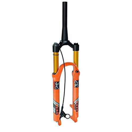 BESTSL Horquilla Delantera de Bicicleta de Suspensión para 26 27,5 29 Pulgadas MTB Horquilla de...*