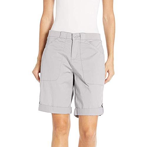 Pantalones Cortos De Playa con Bolsillo EláStico Cordones Color SóLido Verano para Mujer, Mujer Pijama Deportivos Jogging Ribete Volantes Yoga Y Fitness Shorts Deportes Suave Transpirable
