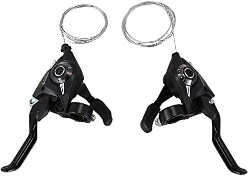 Jcevium Juego de 2 palancas de cambio de bicicleta EF51-7 3X7 21 velocidades para bicicleta derecha*