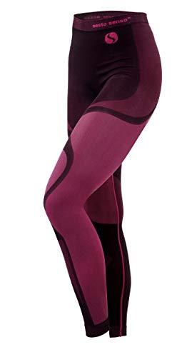 Sesto Senso® Pantalón Térmico Mujer Ropa Interior Térmica Funcional Calzoncillos Largos Leggins...*