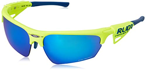 Rudy Project Noyz Rac. Yellow Fluo-MLS Blue, Unisex - Adulto, One Size