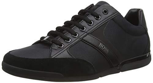 BOSS Saturn_lowp_MX, Zapatillas Hombre, Negro (Black 1), 42 EU