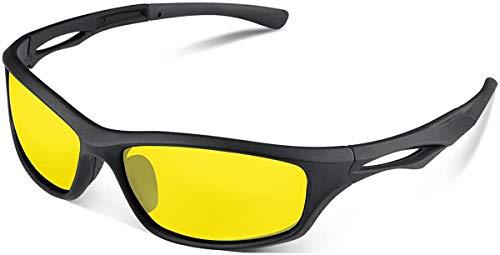 Skevic Gafas Ciclismo Hombre y Mujer - Gafas de Sol Deportivas Polarizadas TR90 Ideales para...*