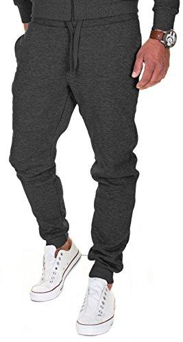 MERISH - 211, Pantalones de correr para hombre, algodón, corte ajustado, para jóvenes antracita...*