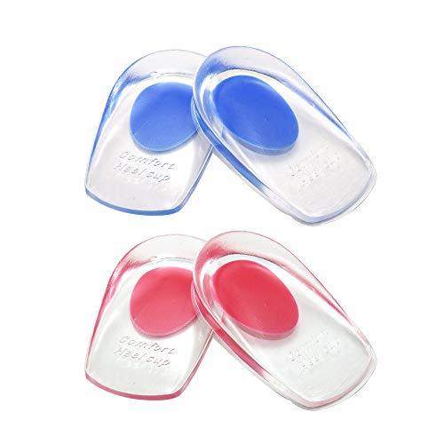 2 pares de Almohadillas de gel para Taloneras , Almohadillas de silicona para Taloneras para la...*