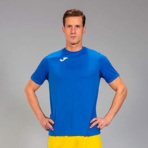 Joma Combi Camiseta Manga Corta, Hombre, Azul (Royal), XL