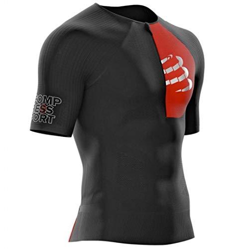Compressport Camiseta de triatlón Unisex Postural Aero SS Top, Unisex Adulto, CS3TSTRIV399T3,...*