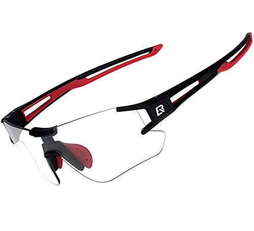 ROCKBROS Gafas de Sol Fotocromáticas Lentes Transparentes para Bicicleta MTB Montaña Ciclismo...*