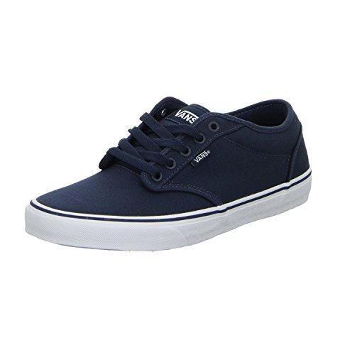 Vans Atwood Zapatillas Azul Marino/Blanco EU42, Parte Superior 100% algodón, Suela de Caucho,