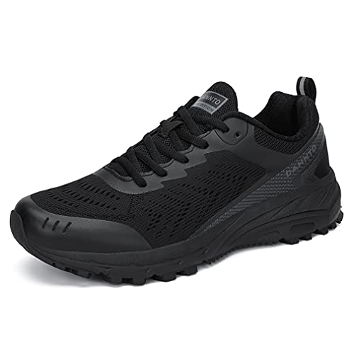 Dannto Mujer Zapatillas de Deporte Hombres Running Zapatos para Correr Gimnasio Sneakers Deportivas Transpirables Montaña