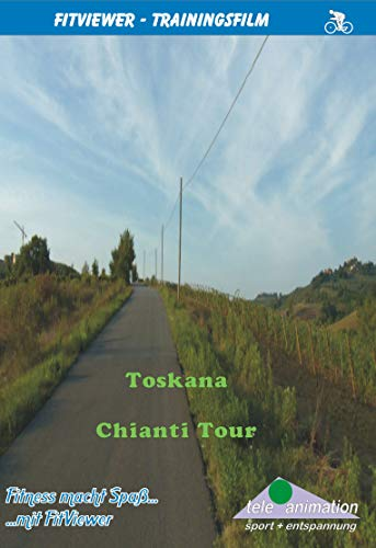Tuscany - Chianti Tour - FitViewer Indoor Video Cycling Italy
