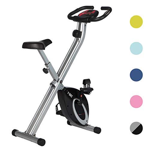 Ultrasport F-Bike Bicicleta estática de Fitness, Aparato doméstico, Plegable con Consola y...*