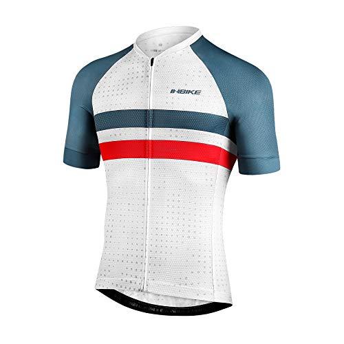 INBIKE Maillot Ciclismo Hombre Verano Camisetas Bicicleta Montaña Ropa MTB Transpirable con...*