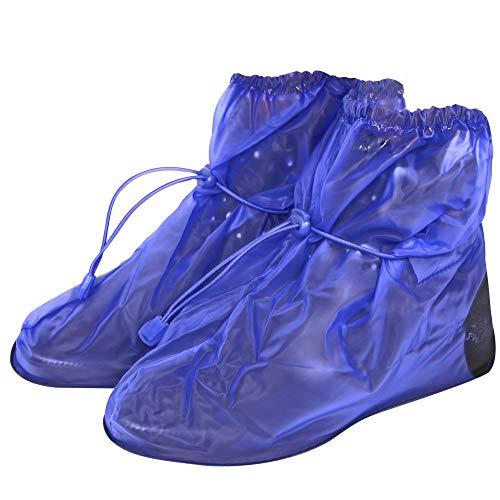 PERLETTI Cubrecalzado Impermeable de PVC - Resistente y Reutilizable - con Suela Antideslizante -...*