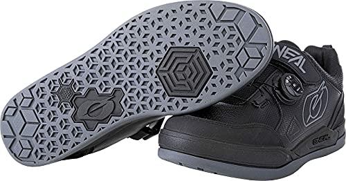 O'Neal | Zapatillas de ciclismo | Mountainbike MTB DH FR | Suela de súper agarre, sistema de fijación ajustable con trinquete, reposicionamiento del pie | Sender Pro Shoe | Adultos | Negro | Talla 42