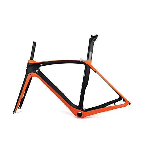 Cuadro de bicicleta de carretera de carbono completo Cuadro de bicicleta de carretera de carbono...*