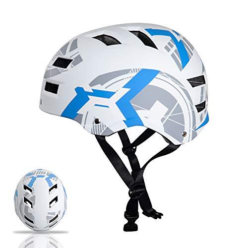 Automoness Casco Skate,Casco Bicicleta con CE Certifiacdo,Unisex Adultos Jovenes Ninos.Multi-Deporte...*