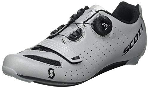 SCOTT Zapatilla Carretera Comp Boa Reflective Lady Ciclismo, Mujer, Reflec BK, 41*
