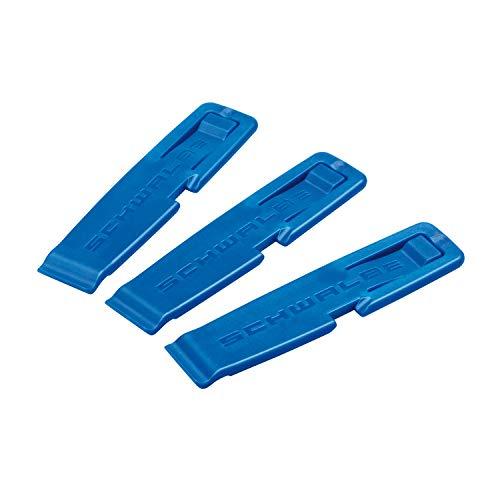 Schwalbe 1847 - Palancas de neumáticos para bicicletas, color azul, pack con 3 unidades*