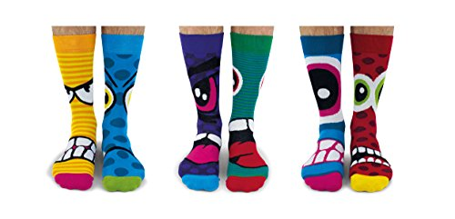 United Oddsocks - Calcetines térmicos para hombres 6 - Modelo: The Stress Heads, colorido, Talla:...*