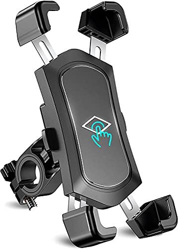 Soporte Movil Bicicleta Desmontable, 360° Rotación Soporte Movil Moto, Acero Inoxidable Anti...*