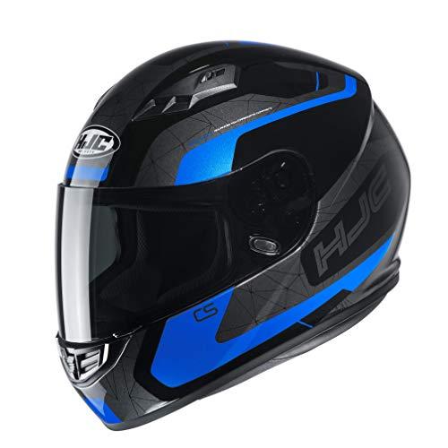 HJC NC Casco per Moto, Hombre, Negro/Azul, M*