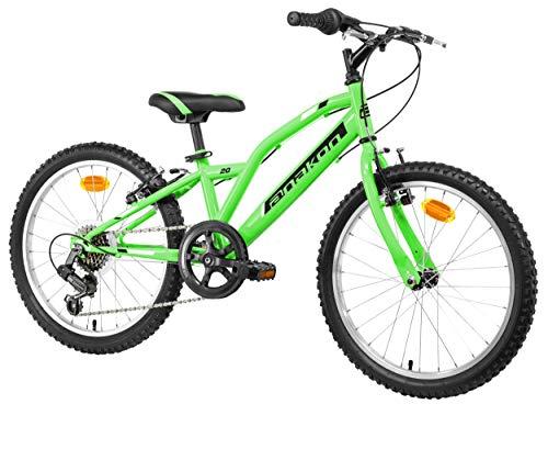 Anakon Hawk Six Bicicleta de montaña, niño, Verde, 6-9 años*