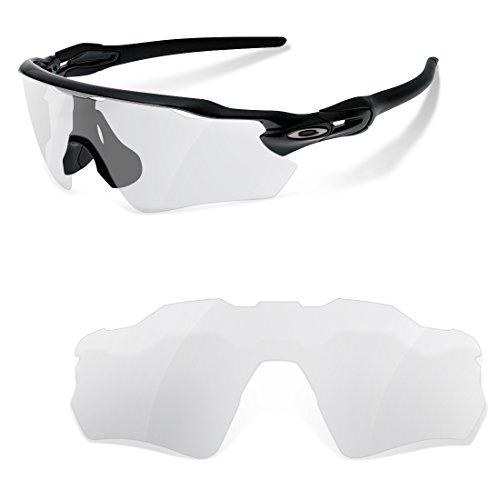 sunglasses restorer Lentes de Recambio Compatibles Transparentes para Oakley Radar Path EV