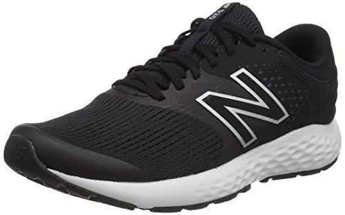 New Balance 520v7, Zapatillas para Correr Hombre, Black/White, 40.5 EU*