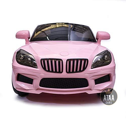 ATAA X5 Berlina 12v Style Mando Remoto - Rosa - Coche eléctrico para niño y niña de Color Rosa,...*