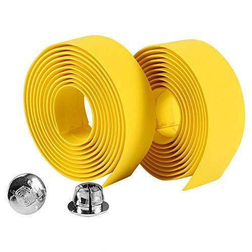 Guidoline, guidoline velo route, guidoline velo de course, 2 cintas adhesivas para manillar de bicicleta, espuma de goma estable para bicicleta de carretera, bicicleta de montaña