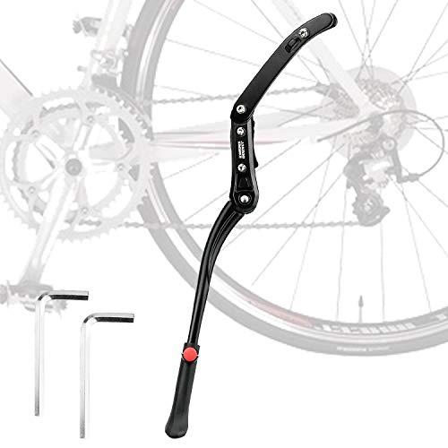 KARAA Pata de Cabra para Bicicleta Aluminio Soporte Ajustable para 24'' - 29'' Montaña Bicicleta...*