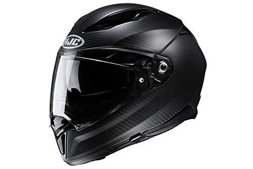 HJC Helmets, casco integral de moto F70 carbon negro mate, M