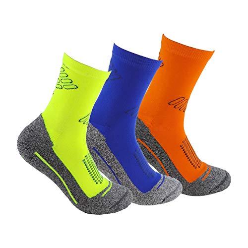 Calcetines deportivos (3 pares) SIN COSTURAS de alto rendimiento para hombre o mujer. Ideales para...*