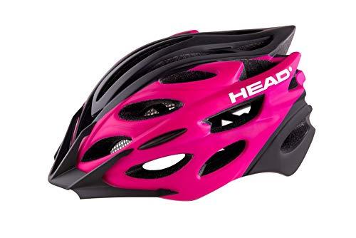 Head Bike - Casco MTB W07 in-Mould, para Mujer, Color Rosa, Talla Grande*