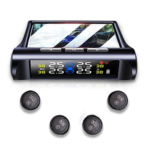 Sistema de monitoreo de presión de los neumáticos, TPMS Monitor C240 Sensor de energía...*