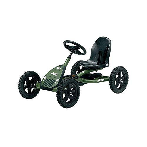BERG Pedal Gokart Buddy Jeep Junior | Coche de Pedales, Seguro y Estabilidad, Juguete para niños Adecuado para niños de 3 a 8 años