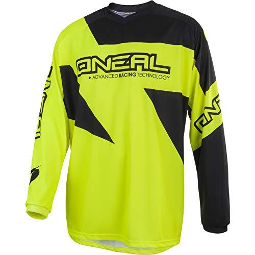 Oneal MATRIX JERSEY Equipación para Montar En Bicicleta y Motocross, L, Amarillo
