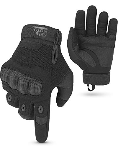 Guantes de moto, guantes táctiles deportivos, guantes tácticos transpirables, aptos para moto,...*
