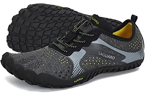 SAGUARO Hombre Mujer Barefoot Zapatillas de Trail Running Minimalistas Zapatillas de Deporte Fitness...*